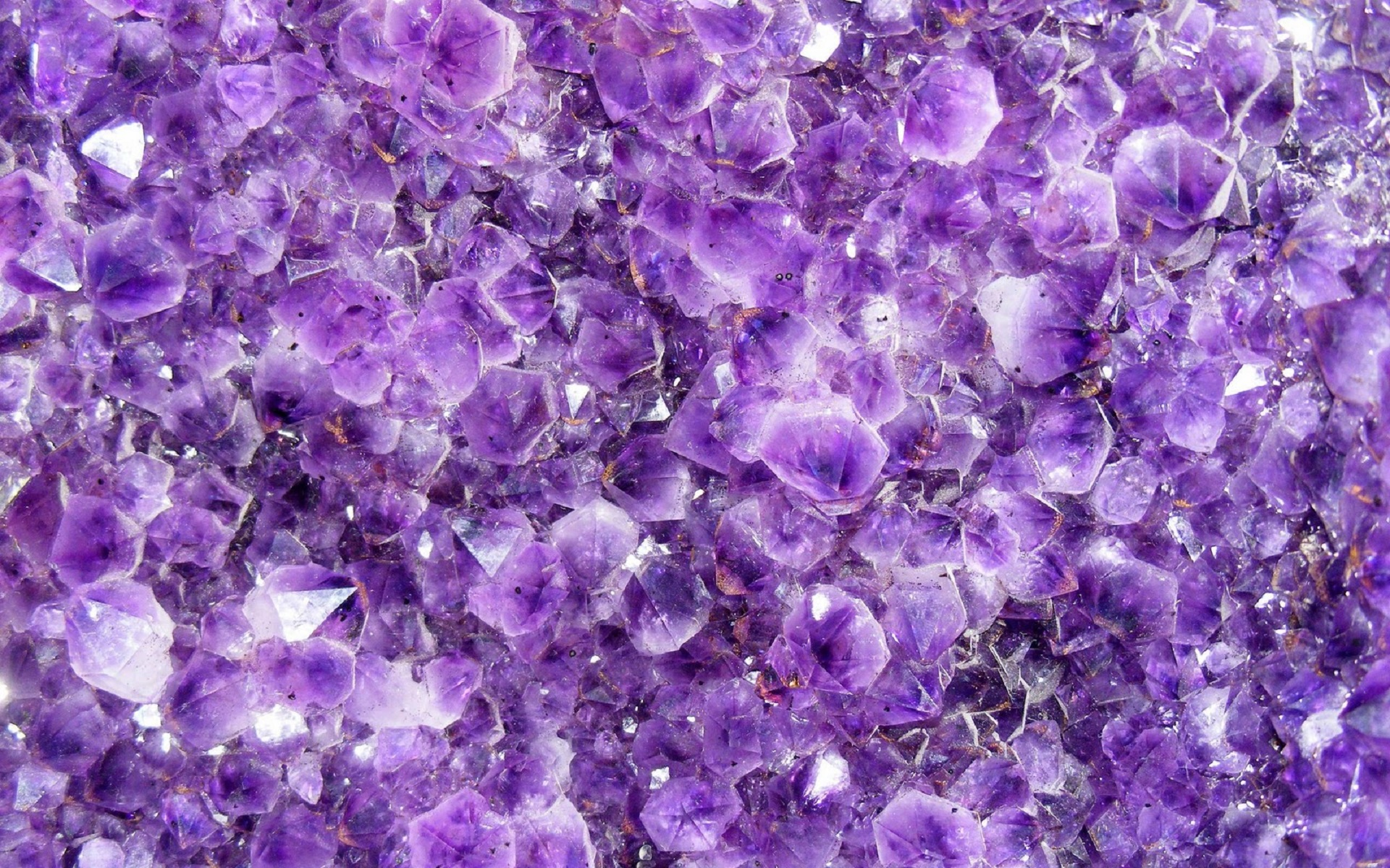 purple crystals wallpaper