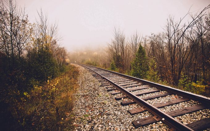 railroad wallpaper background