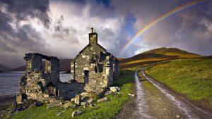 Rainbow Over the Mountain Wallpaper