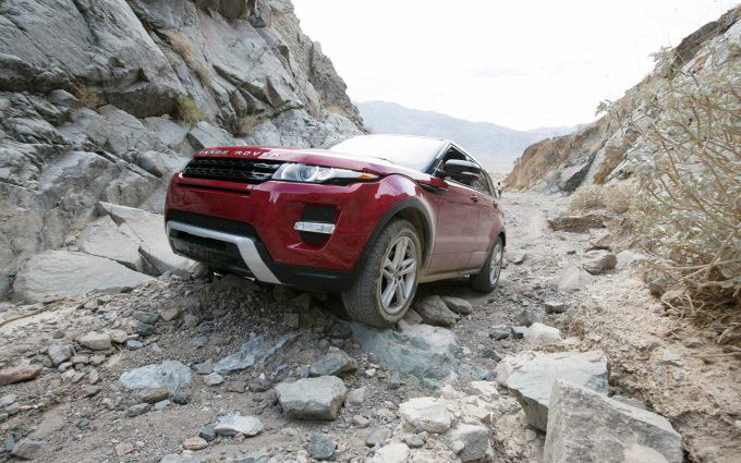 range rover evoque off road wallpaper background