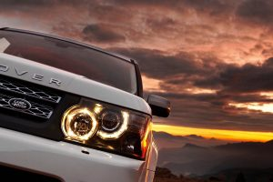 range rover headlights wallpaper background