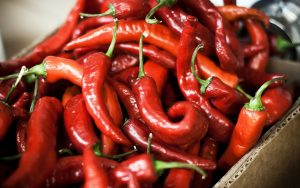 Red Chillies Wallpaper
