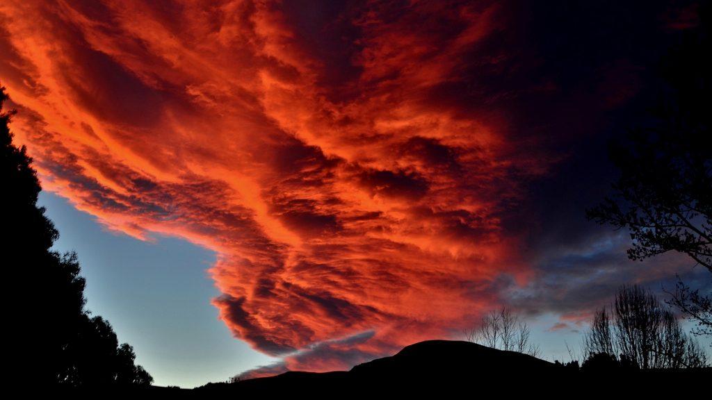 Red Clouds Wallpaper 4K | HD Wallpaper Background