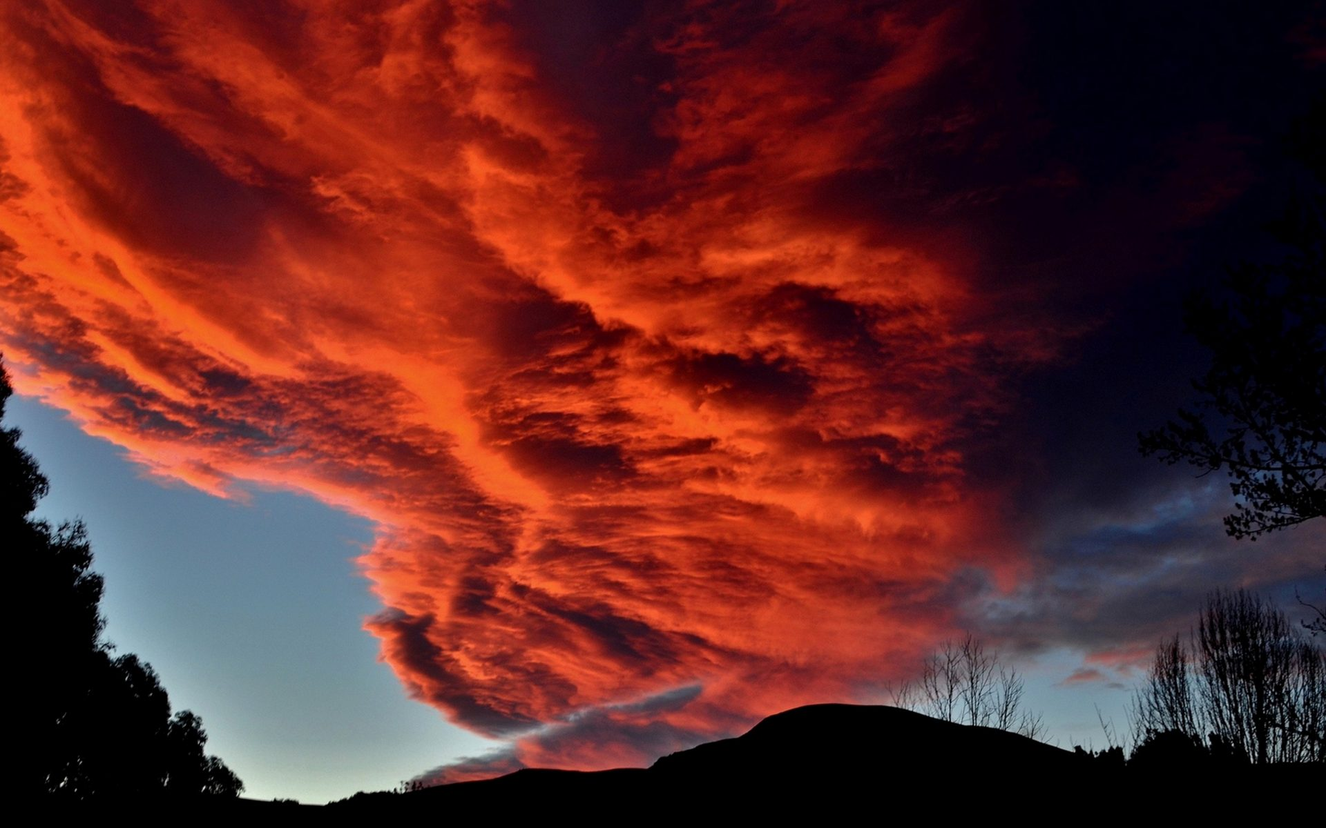 Red clouds wallpaper 4k hd wallpaper background - Background images 4k hd ...