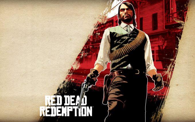 red dead redemption wallpaper background
