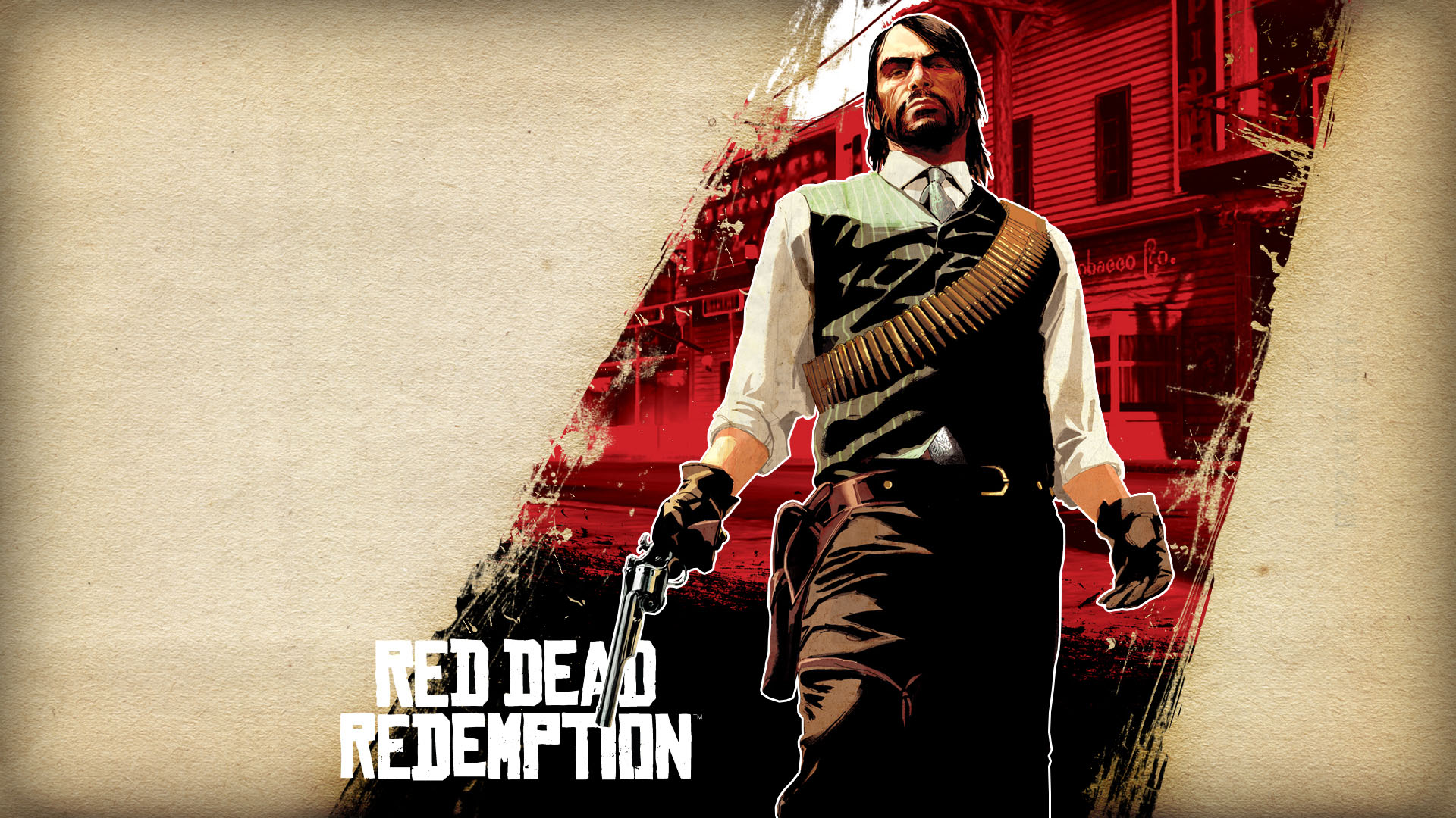 red dead redemption wallpaper background