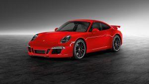 Red Porsche 911 Carrera Wallpaper
