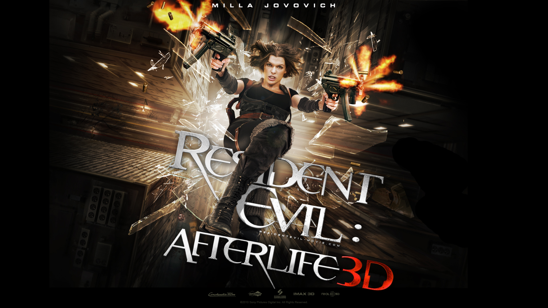 resident evil afterlife wallpaper background