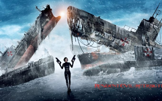 resident evil retribution wallpaper background