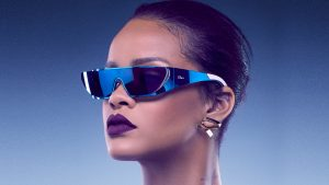Rihanna Dior Sunglasses 4K Wallpaper