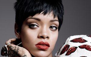 Rihanna Lips Wallpaper