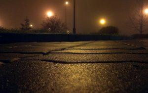 Road At Night Wallpaper