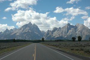 Road to Mountain Widescreen Wallpaper
