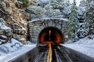 road tunnel wallpaper background