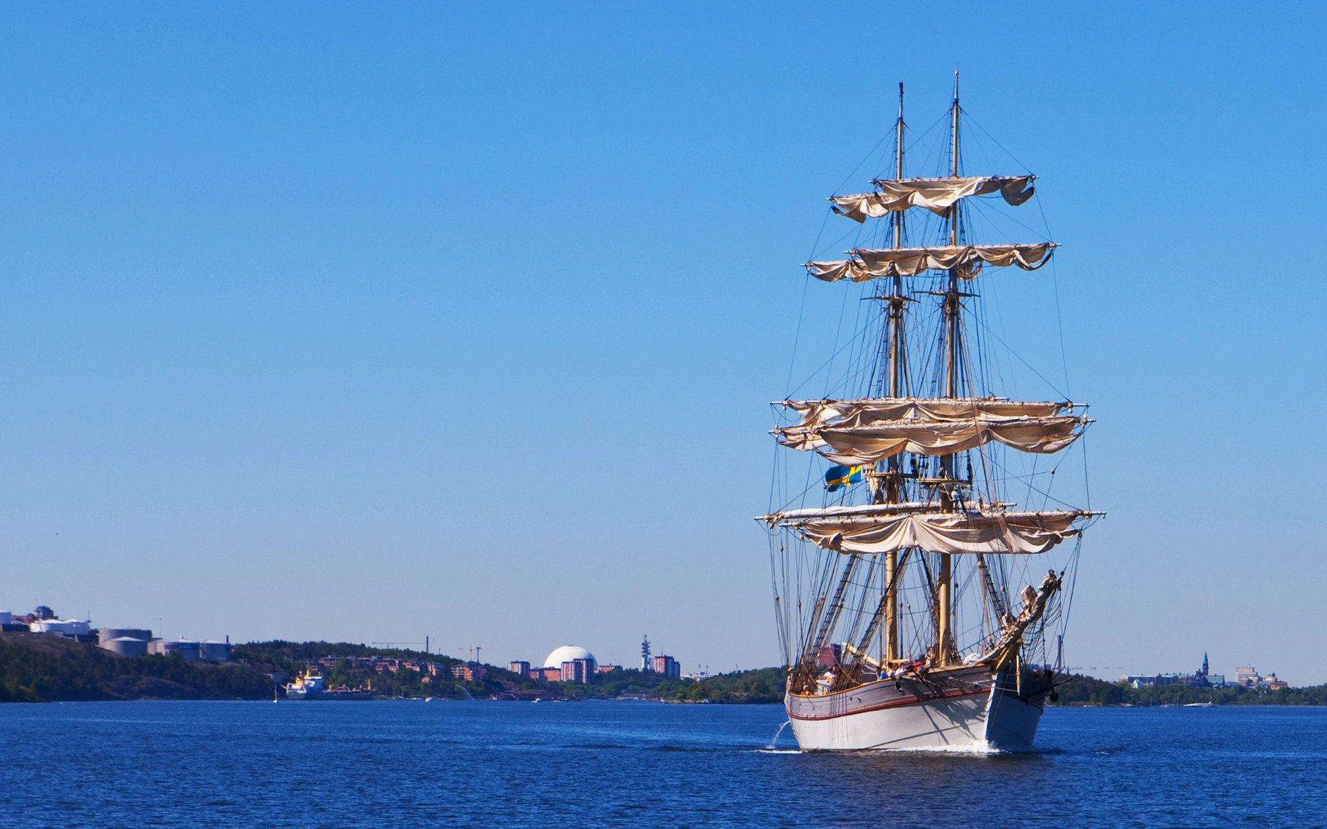 sailboat wallpaper background