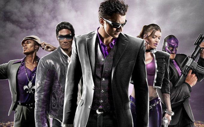 saints row 3 wallpaper background