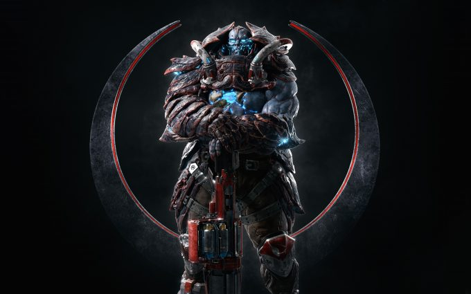 scale bearer quake champion 4k 8k background