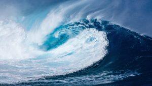 Sea Waves Wallpaper 4K Background
