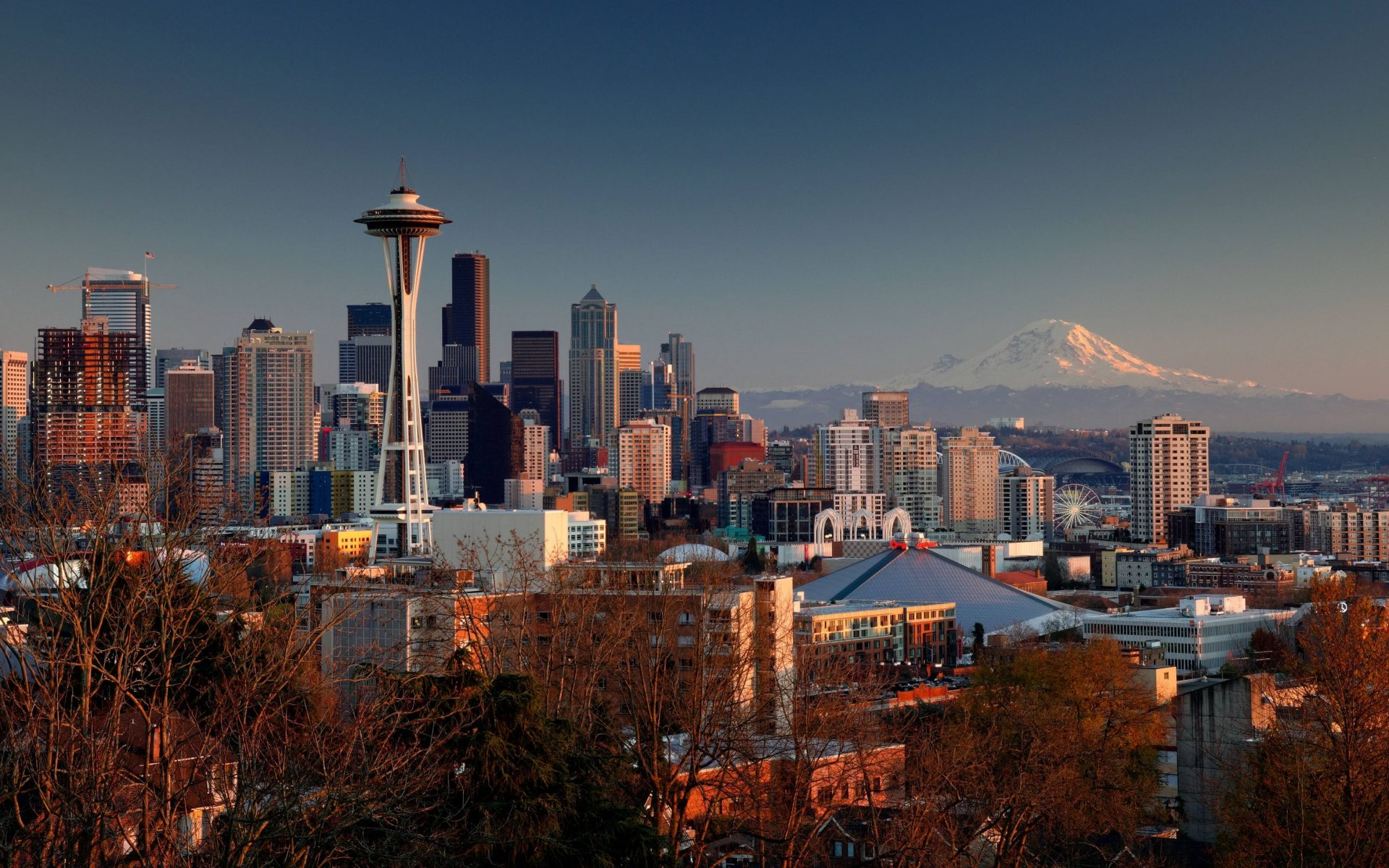 Seattle 4k wallpaper hd wallpaper background - Desktop wallpaper 4k ...