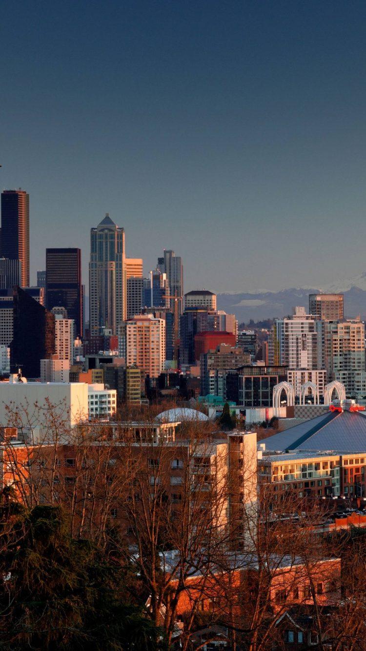 Seattle 4k Wallpaper Hd Wallpaper Background