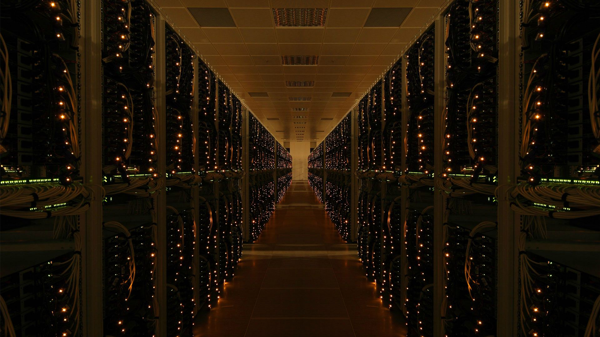 server room wallpaper background