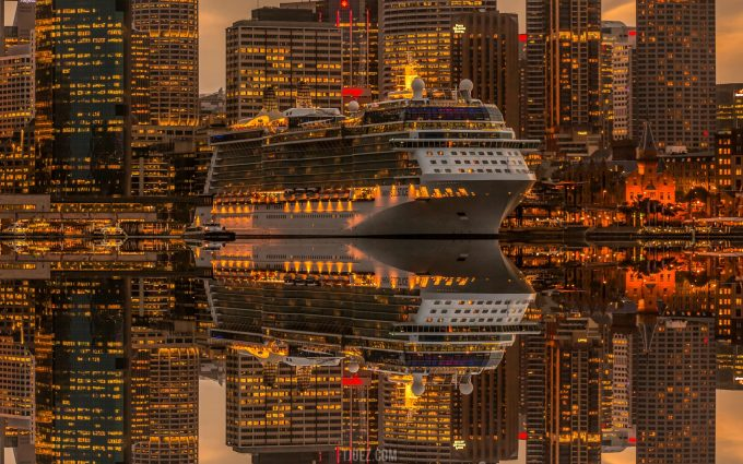 ship reflection wallpaper background, wallpapers