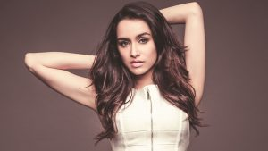 Shraddha Kapoor in White Dress Wallpaper