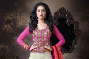 shraddha kapoor pink dress wallpaper