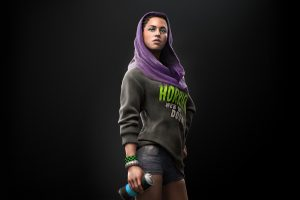 sitara dhawan watch dogs 2 wallpaper 4k 8k background