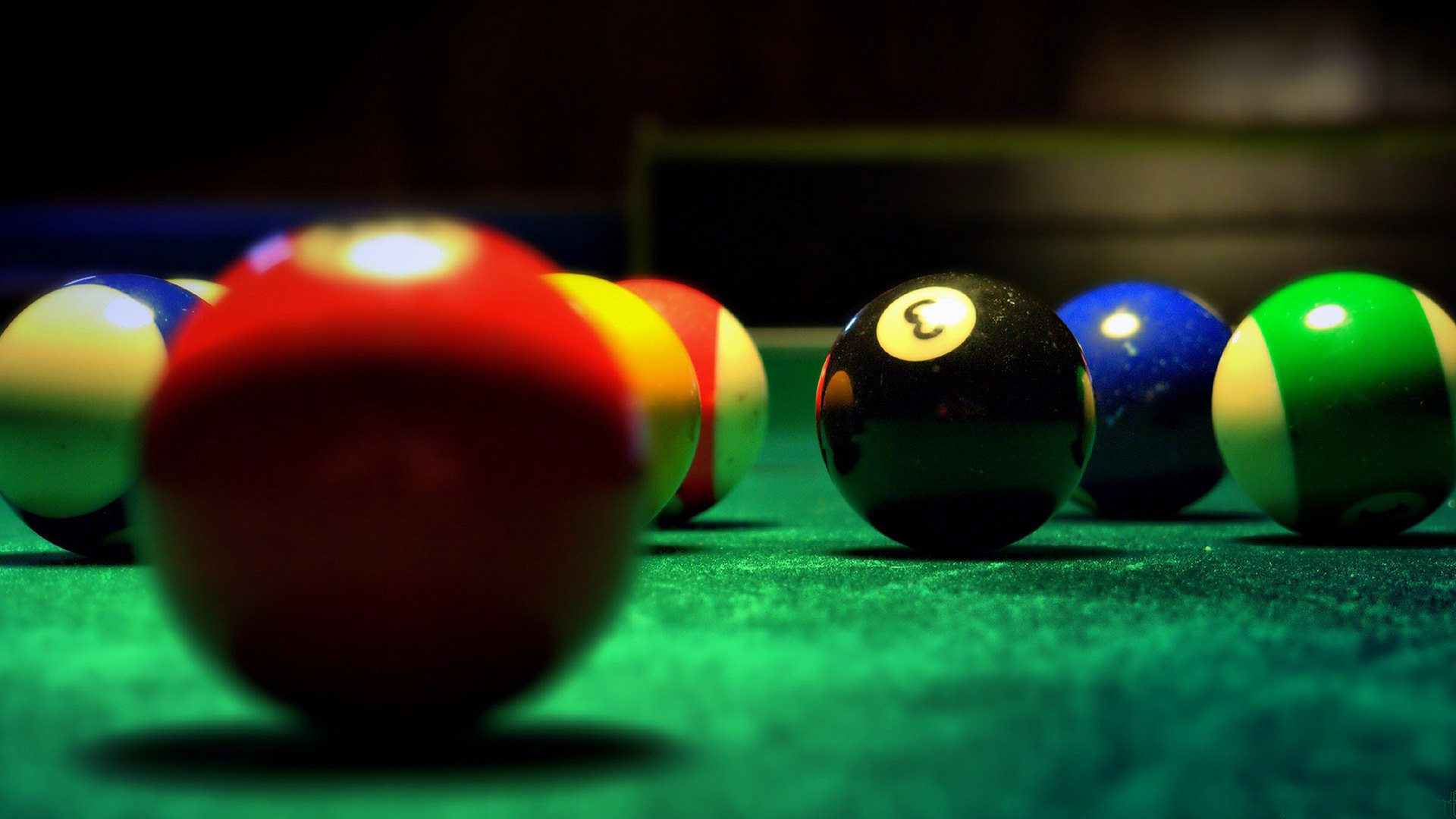 snooker balls wallpaper background