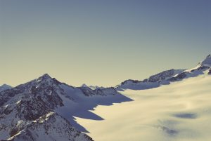 Snow Covered Mountain Wallpaper 4K