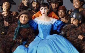 Snow White Lily Collins Wallpaper