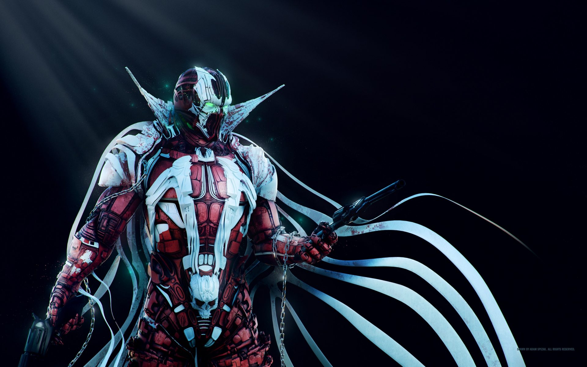 Spawn wallpaper background hd wallpaper background mobile wvga 240x400 480x800 400x240 smartphone 169 540x960 720x1280 iphone 5 s 640x1136 iphone 6 s 750x1334 spawn wallpaper voltagebd Images