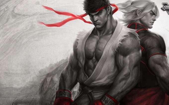 street fighter 5 wallpaper background