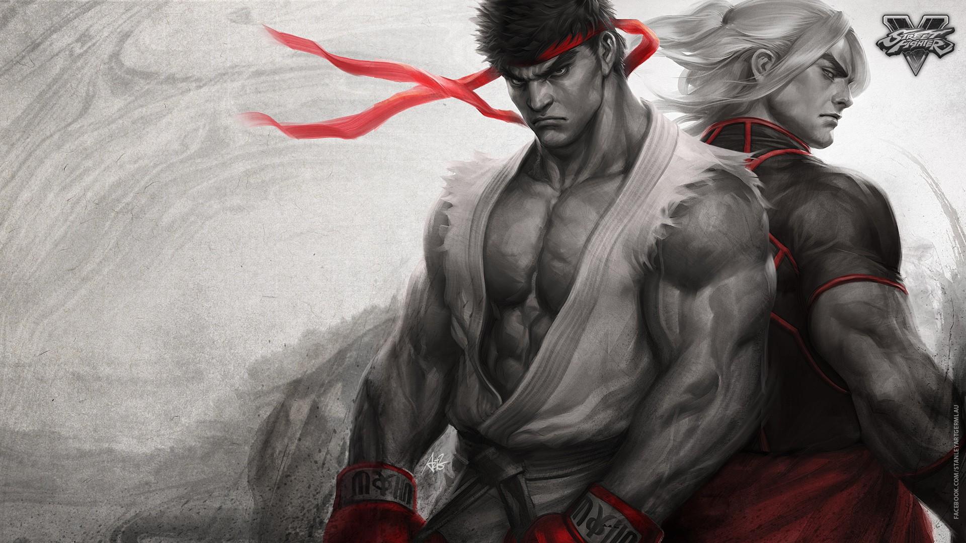street fighter 5 wallpaper background