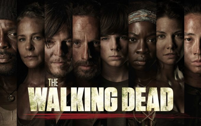 the walking dead wallpaper background