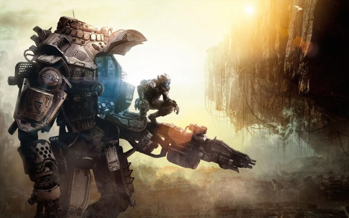 titanfall wallpaper background