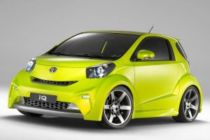 toyota iq green wallpaper