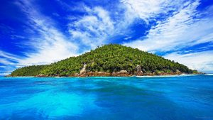 Tropical Island Wallpaper