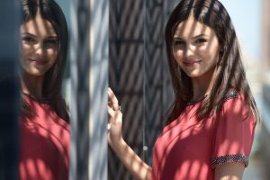 victoria justice in red dress 4k wallpaper background wallpapers