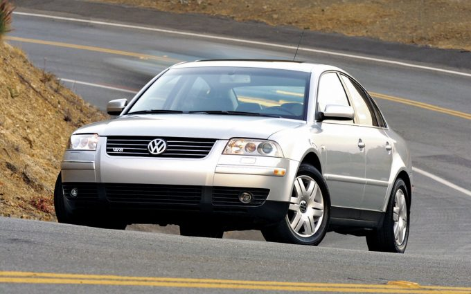 volkswagen passat w8 wallpaper background