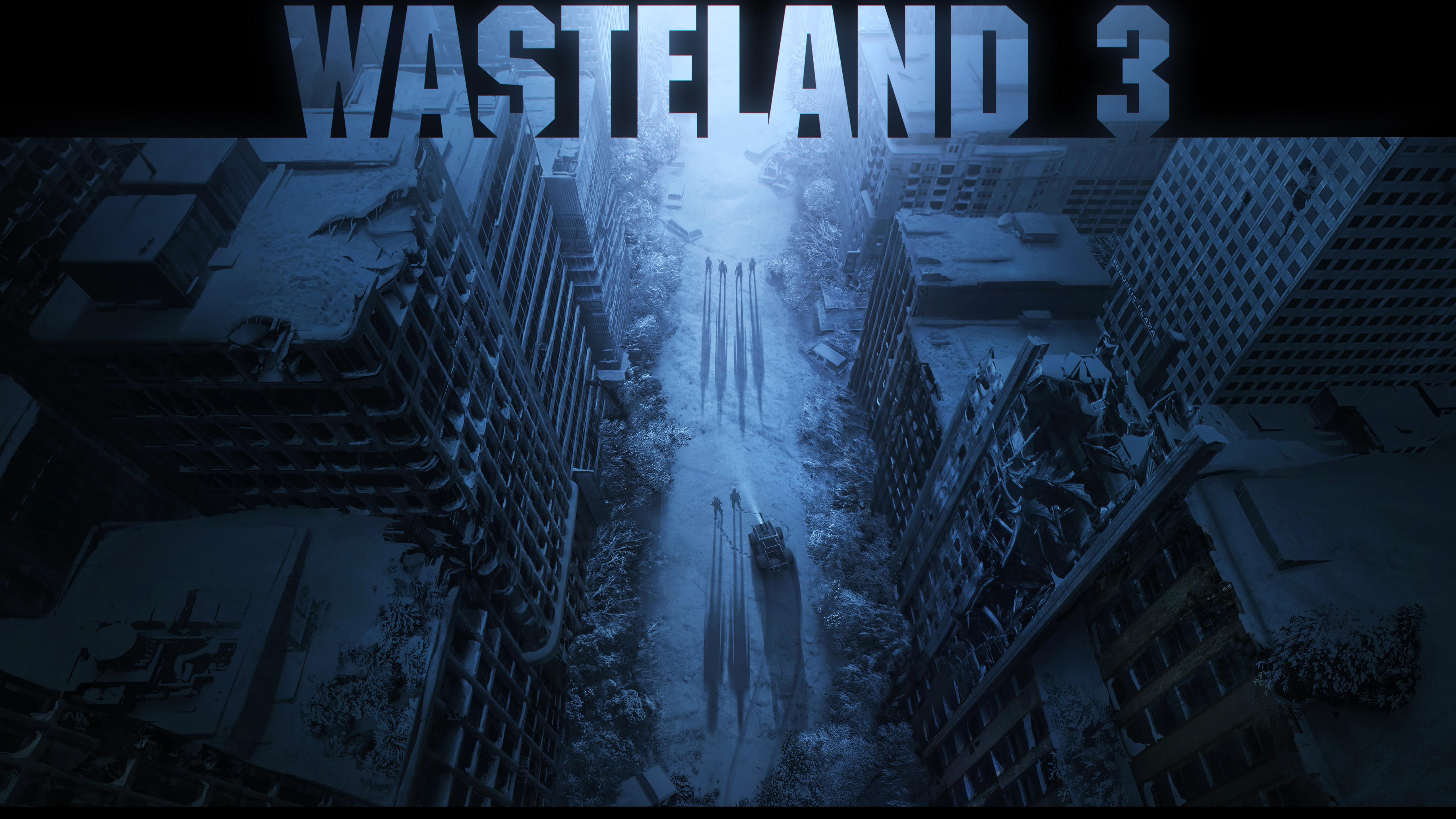 wasteland 3 wallpaper 4k background