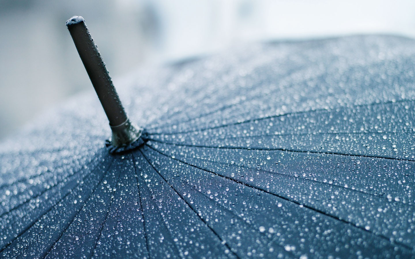 water drop umbrella wallpaper background