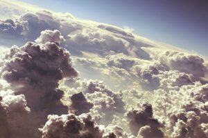 white clouds wallpaper background