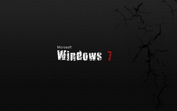 windows 7 black wallpaper background images wallpapers
