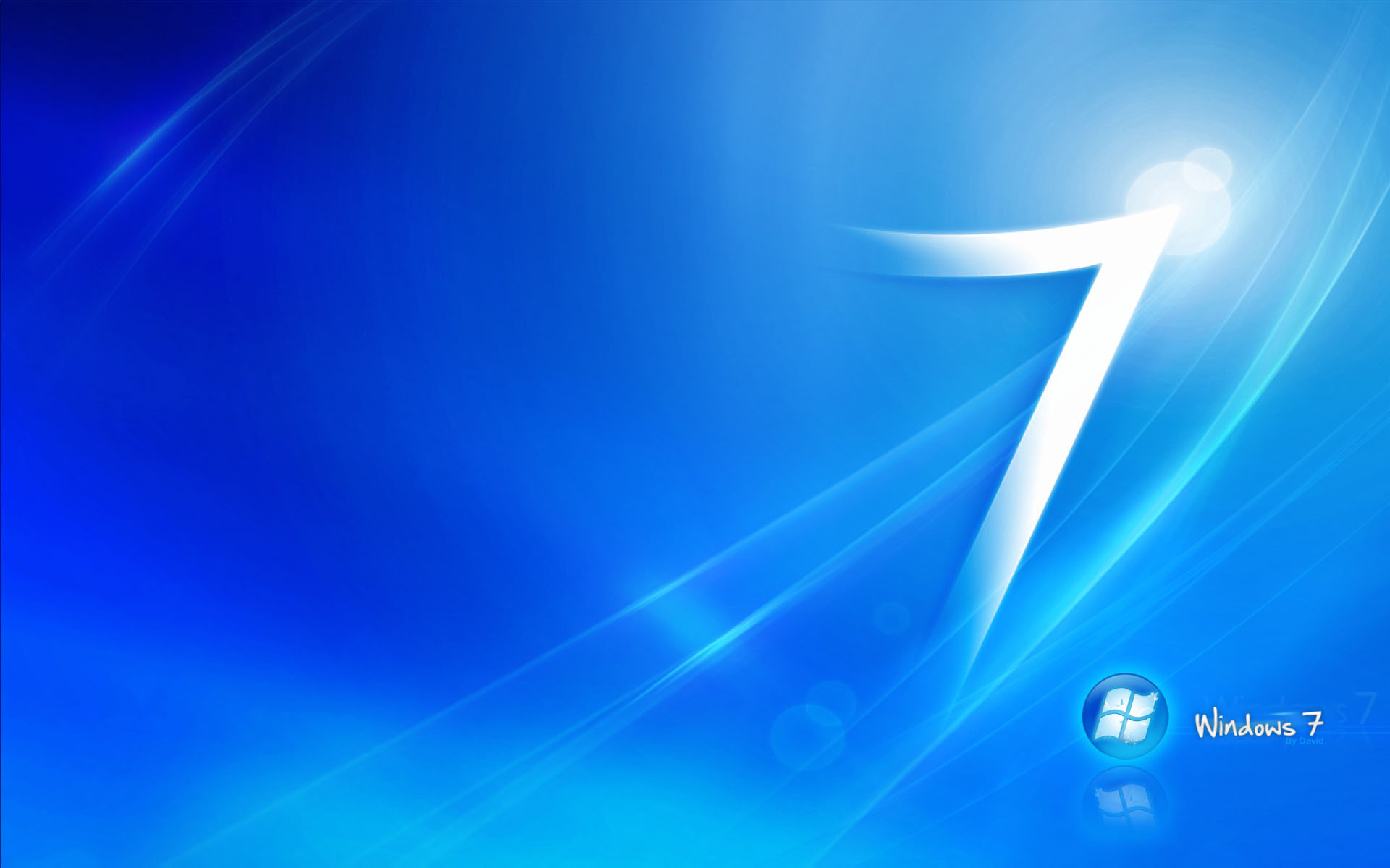 windows 7 blue wallpaper background images wallpapers