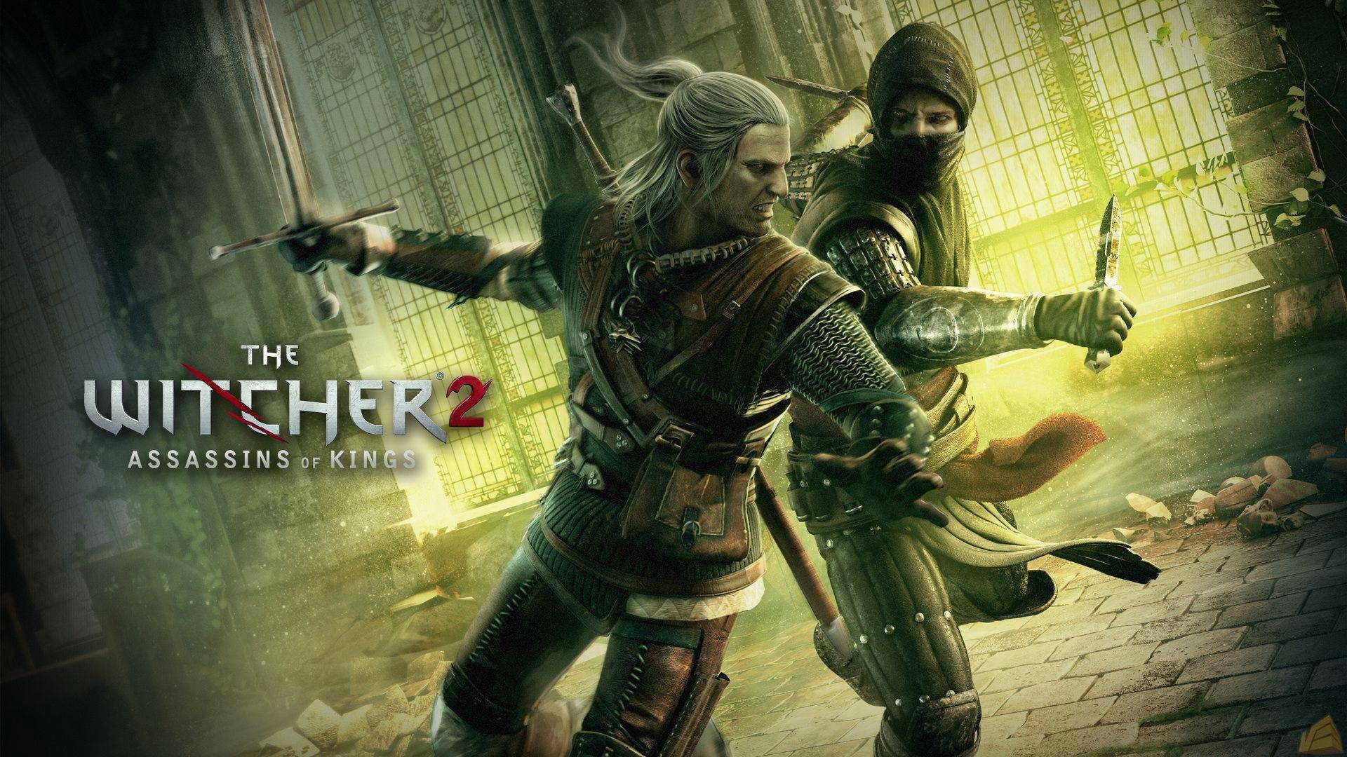 witcher 2 game wallpaper background