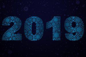 year 2019 4k