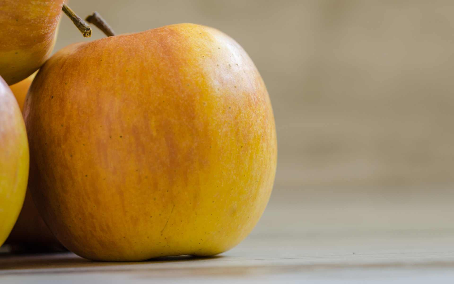 yellow apple wallpaper background images wallpapers