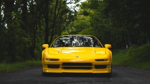 Yellow Car Wallpaper